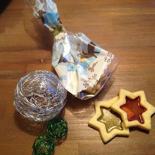 Glas in lood koekjes