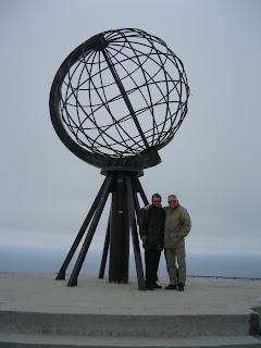 Nordkapp- Der står vi så - ved verdens ende