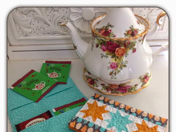 Free Pattern- Tea Bag Wallet