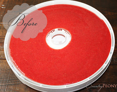 Dehrydrator Strawberry Puree