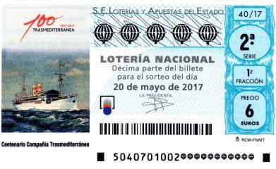 loteria nacional sabado 20 de mayo de 2017