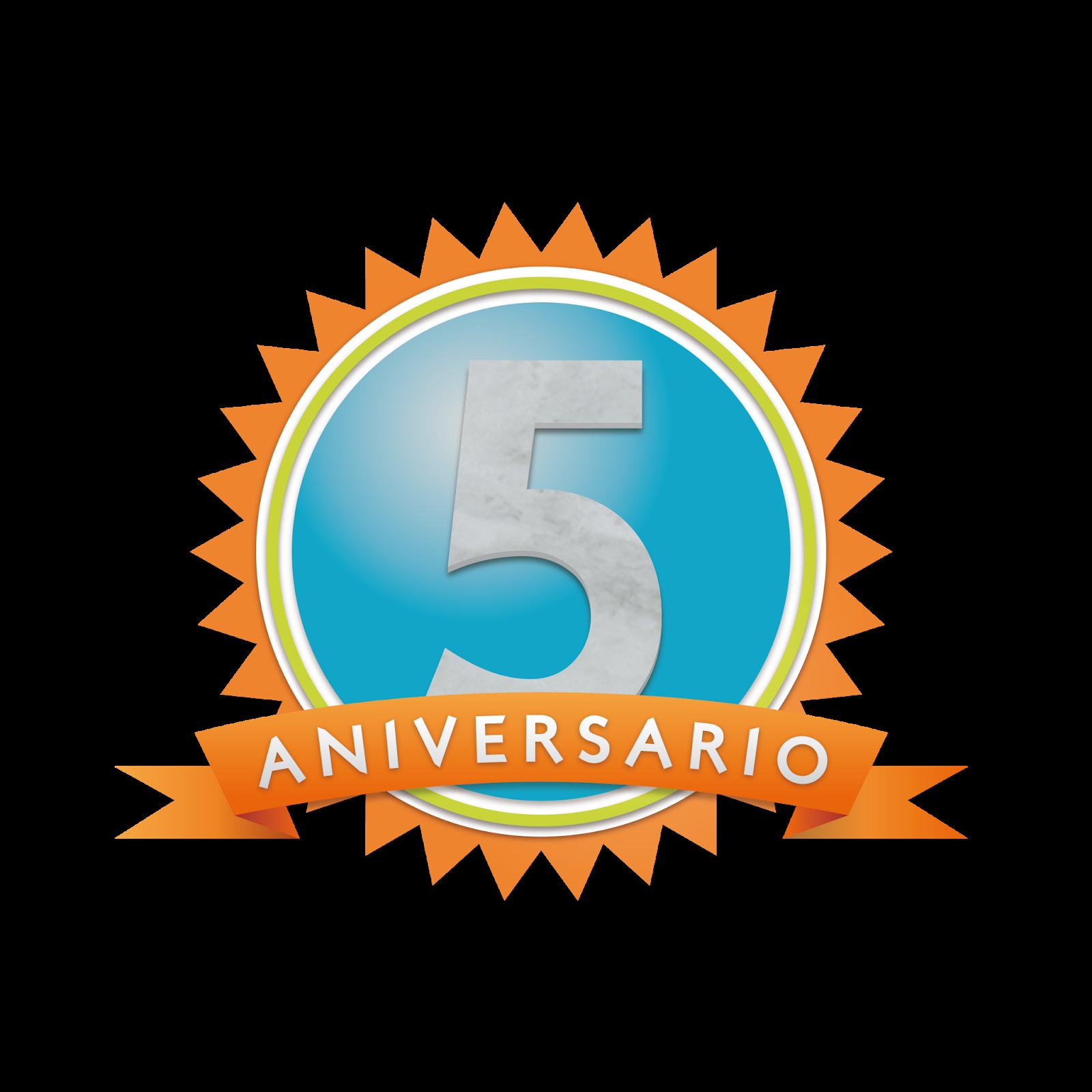 Quinto aniversario del blog