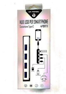 TYPE-C HUB 4 USB ON TENCK