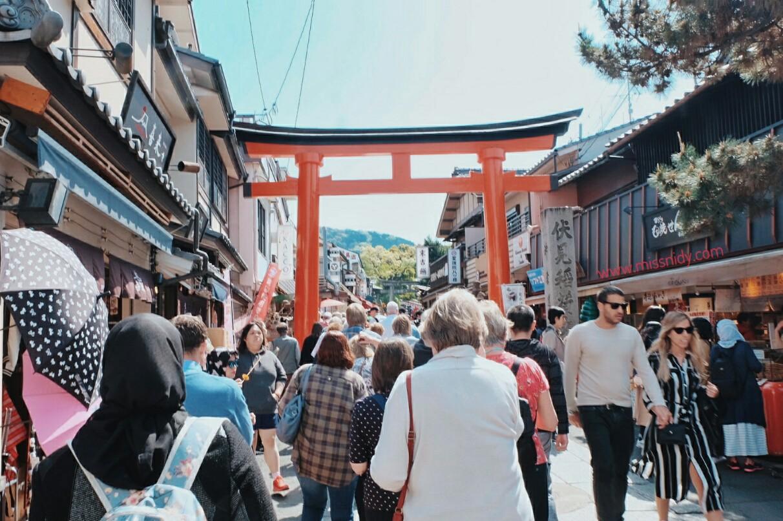 tiket masuk fushimi inari