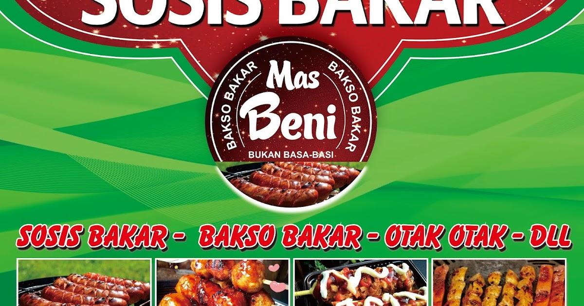 desain banner warung makan sosis bakar keren abdur rozak abdur rozak