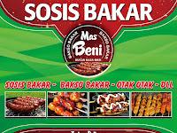 Desain Banner Warung Makan Sosis Bakar Keren