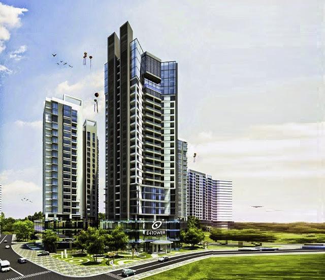 Phối cảnh chung cư E4 Tower, Yên Hòa