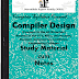 Engineering CSE/IT Compiler Design (CD) Study Materials cum Notes PDF E-Books Free Download
