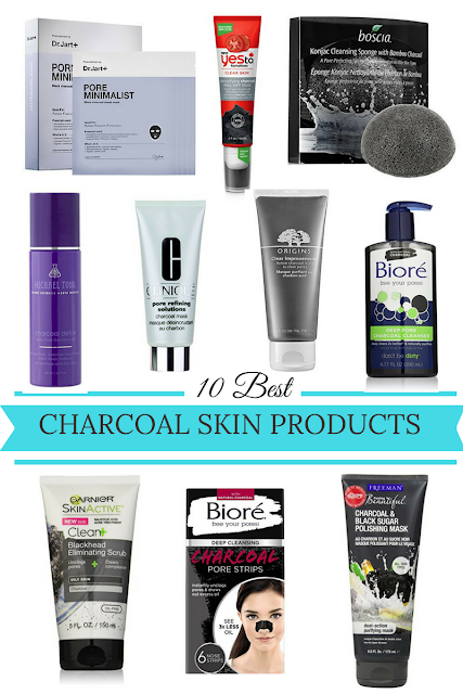 charcoal skin products