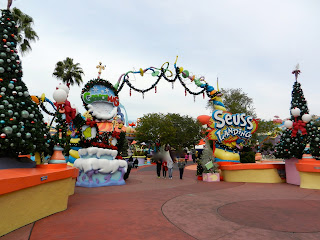 Seuss Land at Islands of Adventure