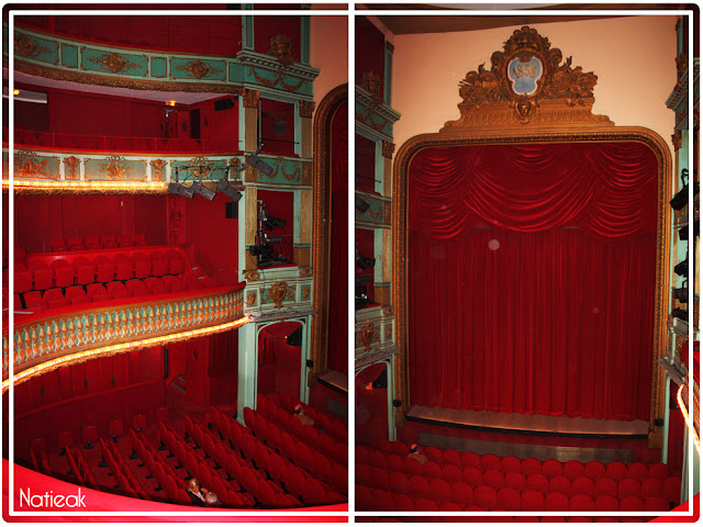 grande salle du théâtre Hébertot