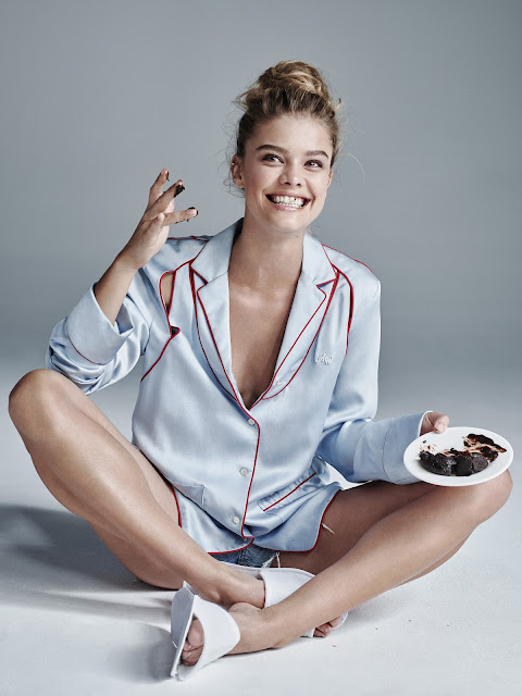 Model, @ Nina Agdal - Guide to eating in New York City