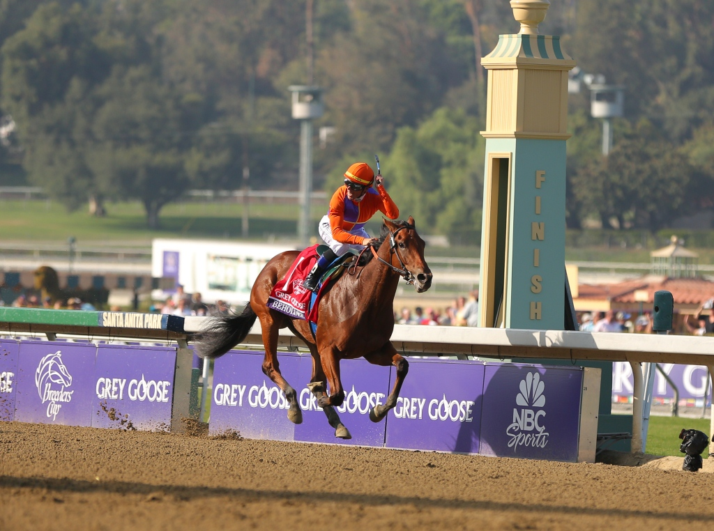 Past The Grandstand Breeders Cup 2012 Friday
