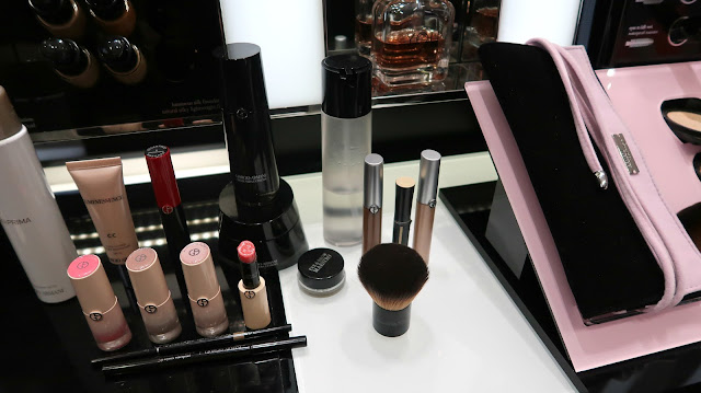 Danielle Levy, Giorgio Armani, Neo Nude Collection, Giorgio Armani Selfridges, Selfridges, Selfridges Manchester, Giorgio Armani Beauty,