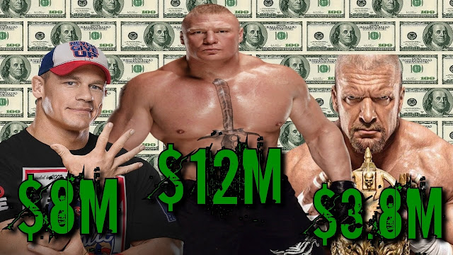 Top 10 Highest Paid WWE Superstars (2017).  StrengthFighter.com