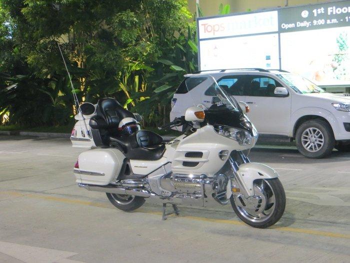 Мотоцикл Gold Wing