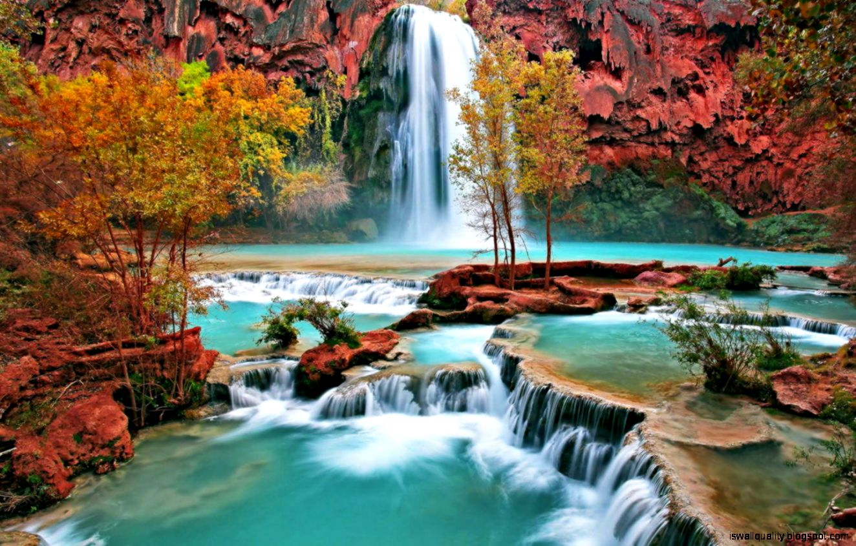 3d waterfalls wallpaper waterfalls wallpaper free photos