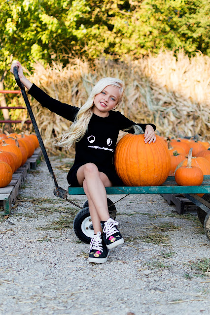 little girl outfit pumpkin patch fall autumn pumpkin patch halloween emoji sneakers