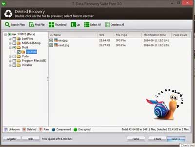 Muncul File Anda - cara mengembalikan file yang terhapus