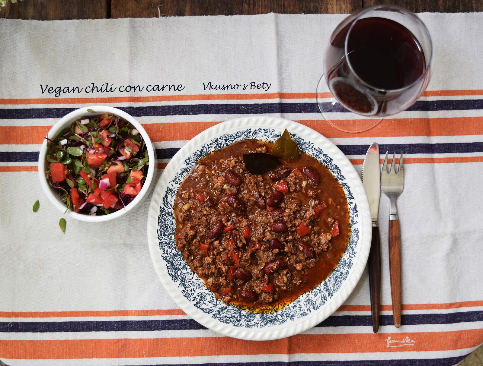 vegan chili con carne. Black Bedroom Furniture Sets. Home Design Ideas