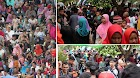 Puluhan Ribuan Penonton Menyaksikan Lomba Sampan Bidar di Desa Tanjung