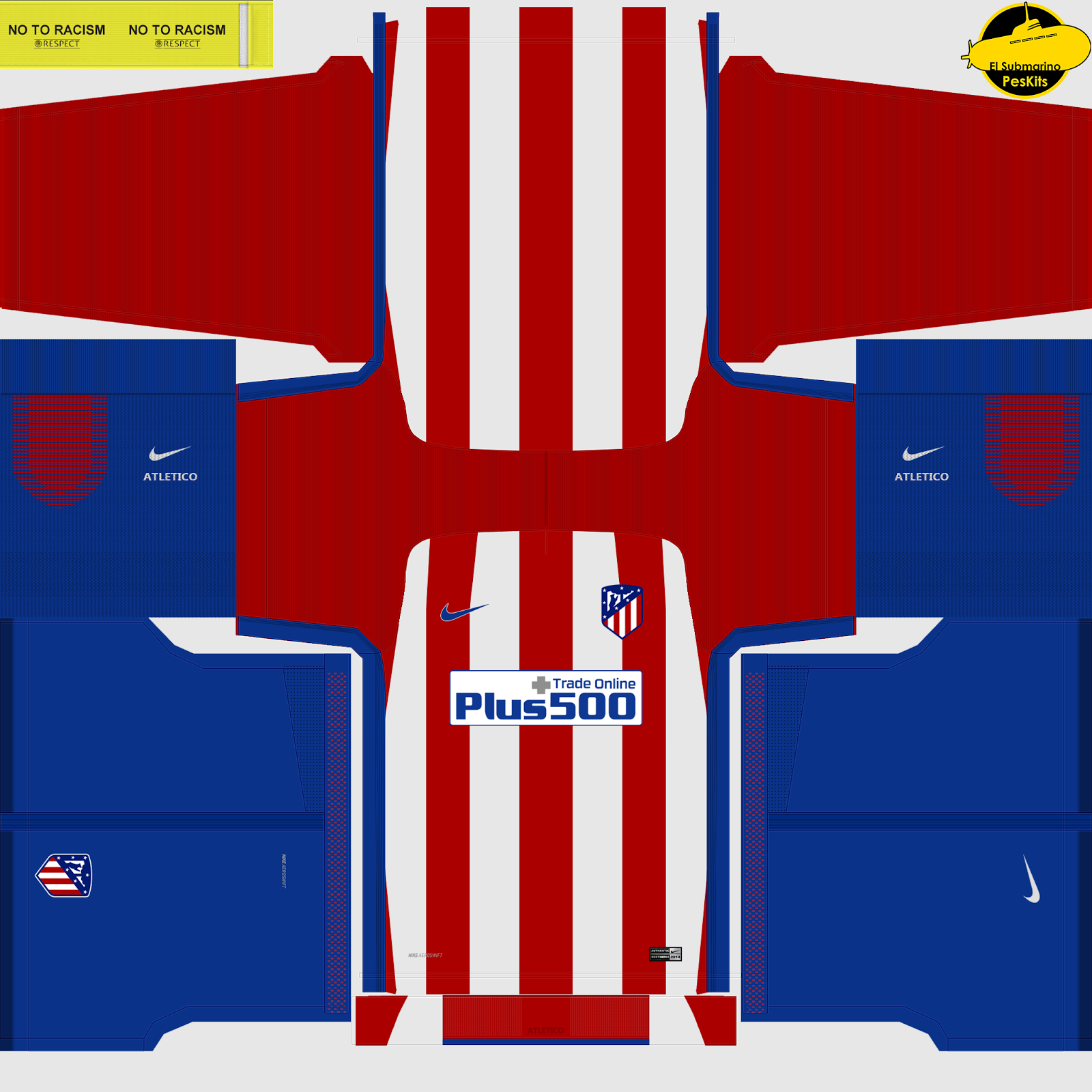 Kit Real Madrid Para Pes 2019: El Submarino Del PES: Kits Atletico De Madrid New Logo Pes