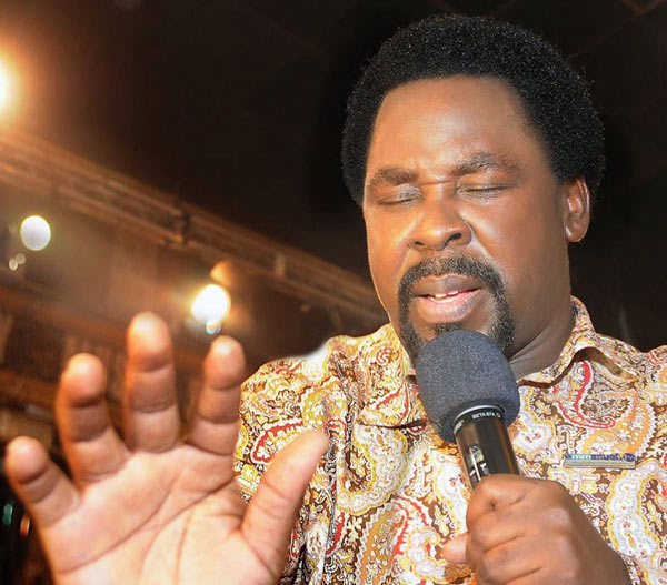 TB Joshua reacts to criticism over failed prophesy on US election