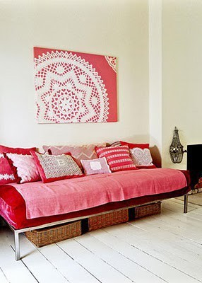Handbags*N*Pigtails: Doily Wall Art-Yea or Nay?