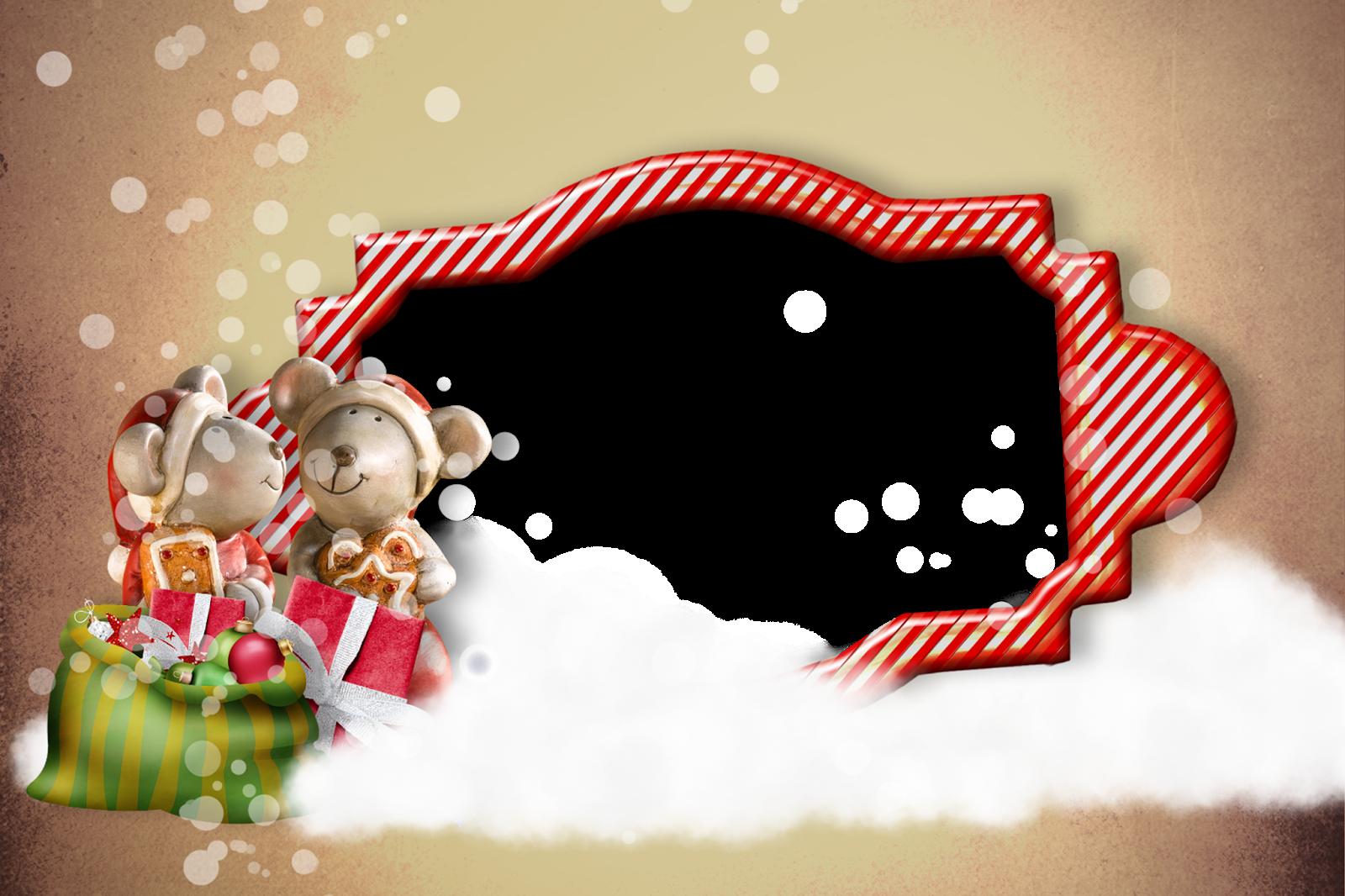 Marcos Invitaciones O Tarjetas De Navidad Para Imprimir