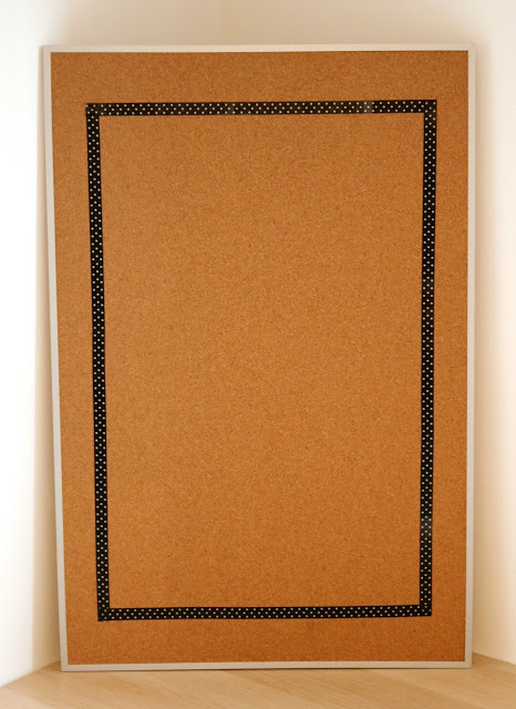 Step One - DIY Cork Board Craft Ideas - How to Turn a Cork Board into a Personalized Weekly To Do List For Your Office