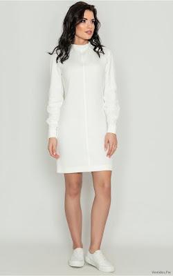 Vestidos Casuales Blancos
