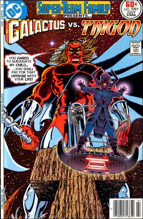 Super Team Family The Lost Issues Galactus Vs Trigon
