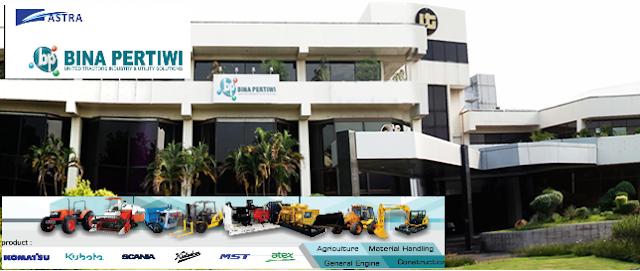 Lowongan Kerja PT. BINA PERTIWI (subsidiary of United Tractors) Maret 2017 (Fresh Graduate/ Experience)