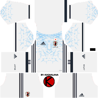 Japan 2016 Kits - Dream League Soccer Kits and FTS15