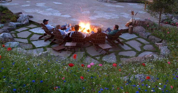 Two Broke Bruces: $7.00 Patio on Fire Pit Inspiration  id=48353