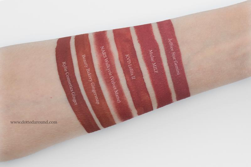 Kat Von D Lolita II liquid Lipstick dupes swatch