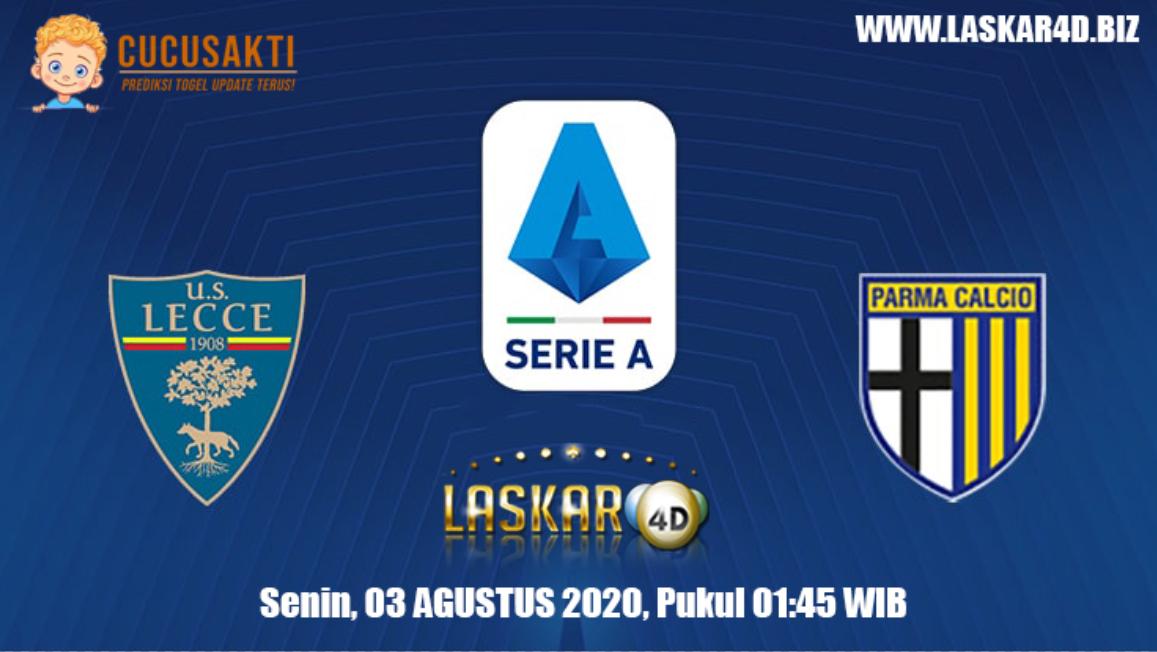 Prediksi Bola Lecce Vs Parma Senin 03 Agustus 2020