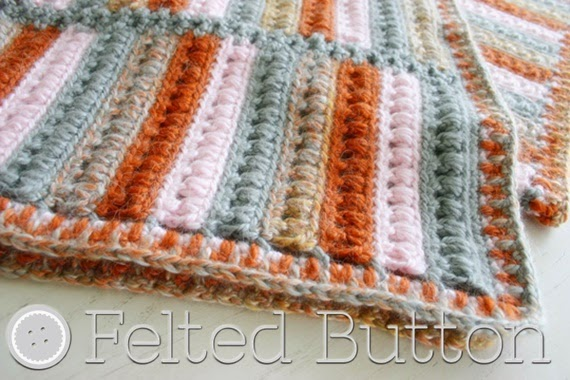 Felted Button - Colorful Crochet Patterns: The Arlington ...