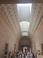 interior romano del museo metropolitano de nueva york
