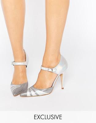 zapatos plateados online