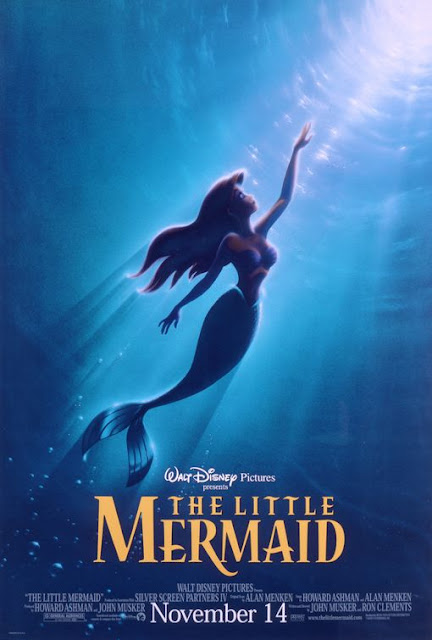 Disney The Little Mermaid movie poster