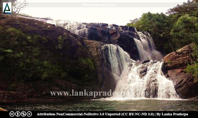 Baker's Falls, Sri Lanka