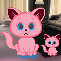 Play Games2Rule Pink Kitty House Escape