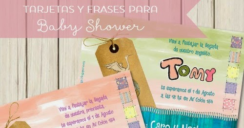 Invitaciones Y Frases Para Baby Shower Kireidesign