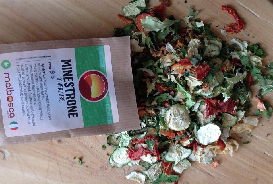 Societ agricola malbosca cucinare con i prodotti disidratati for Cucinare per 50