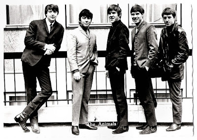 TheForeKatz: EACH BAND'S TOP 10 SONGS ― THE ANIMALS