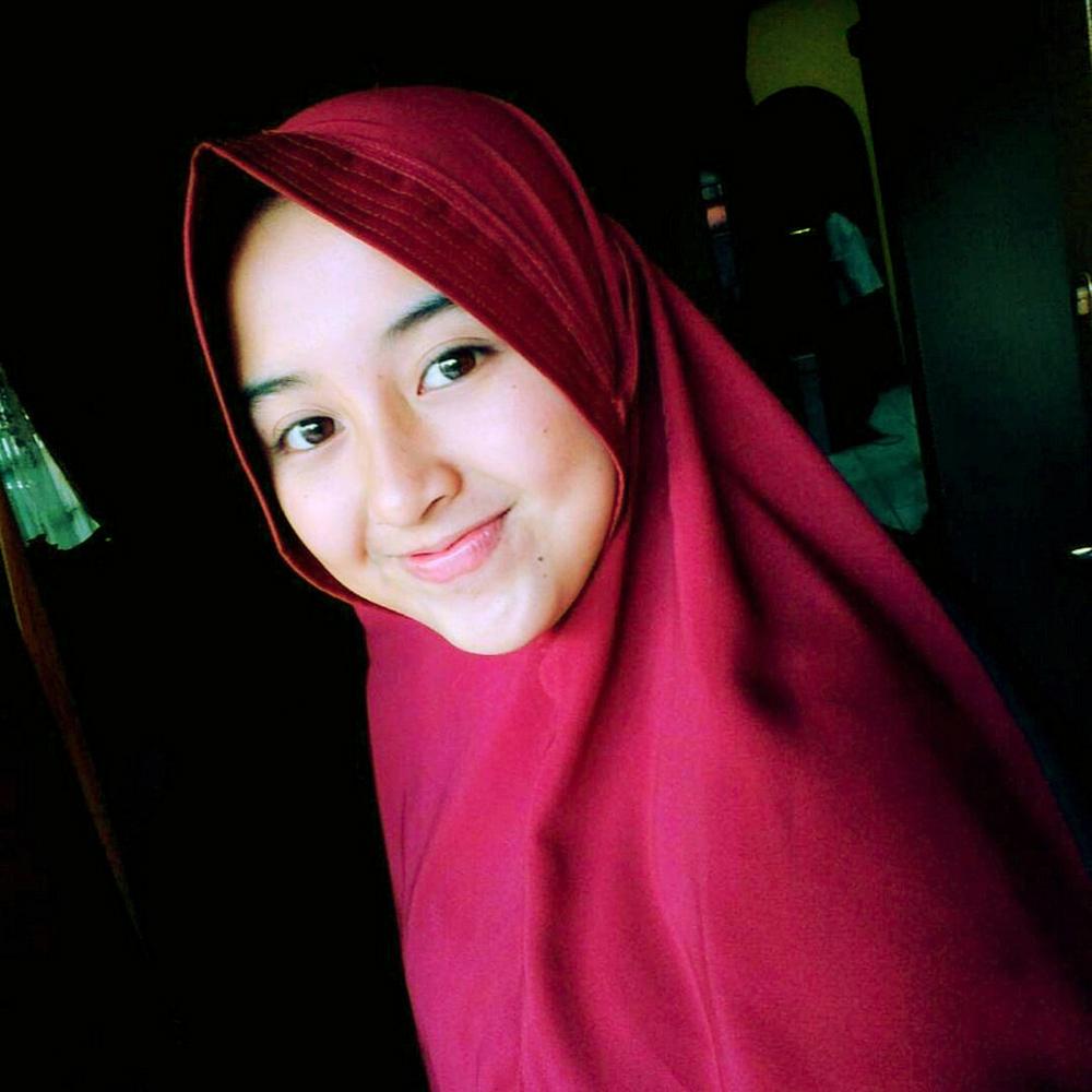 DP cantik baju lebaran jilbab