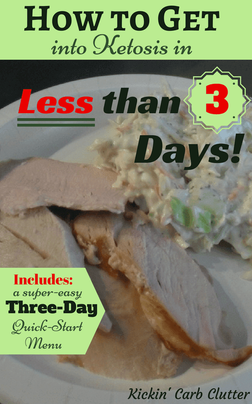 Pinterest Image: Smoked Turkey Breast and Small Pile of Coleslaw