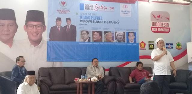 Jokowi Tidak akan Panik karena Bukan Dalang