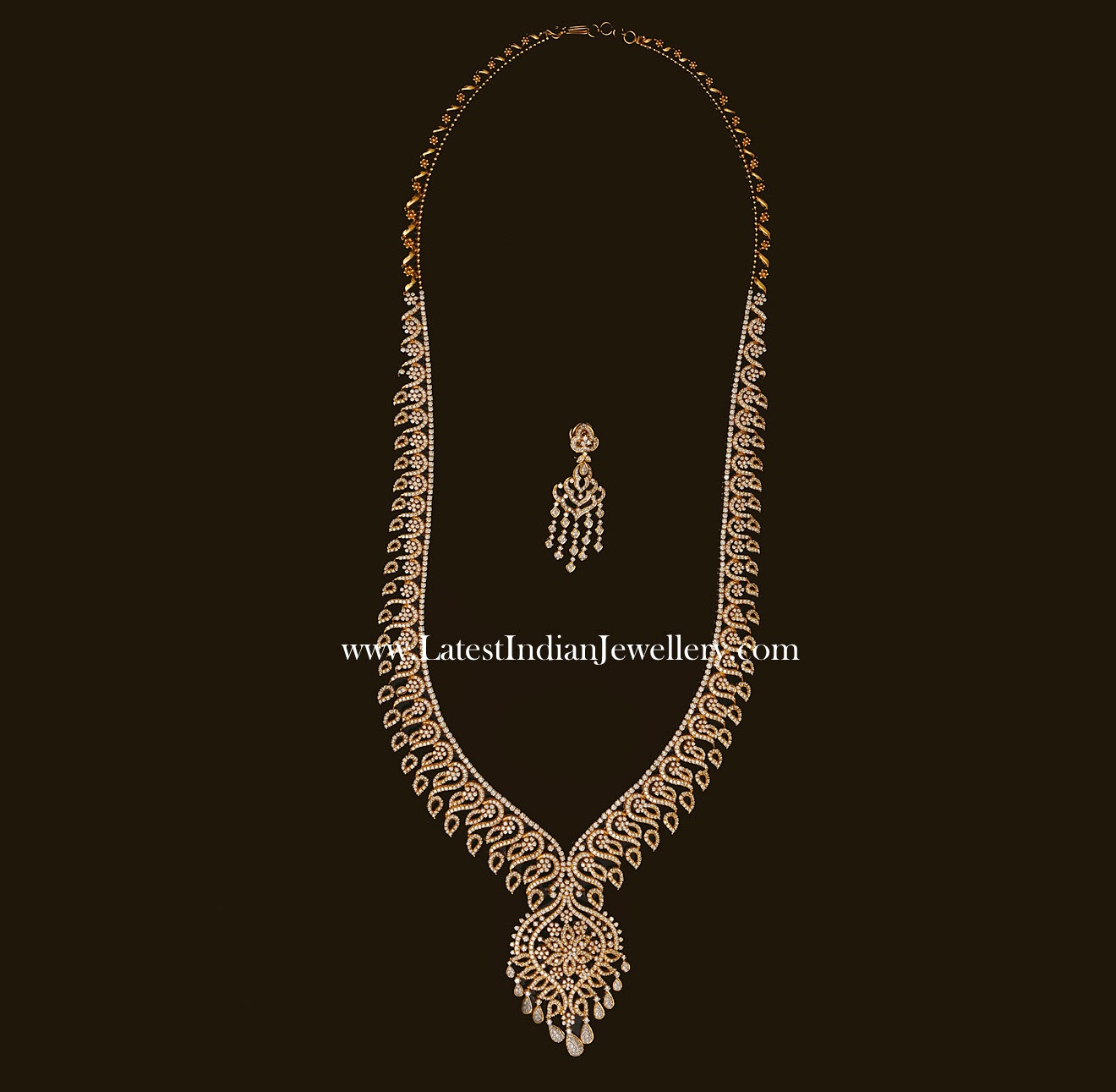 Indian Diamond Haram Design